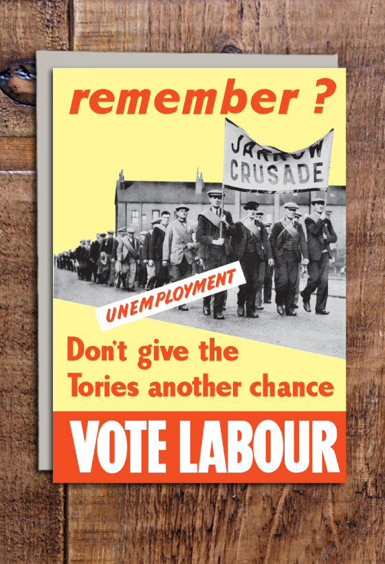 Vote Labour Cards