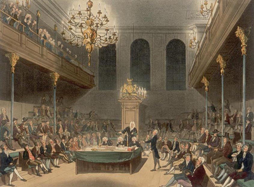 House of Commons 1800s