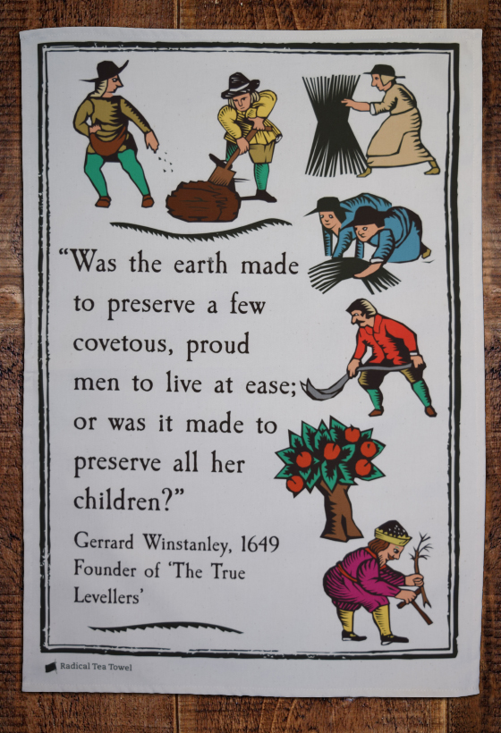 True Levellers Tea Towel